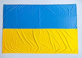 Флаг Украины 1м*1.5м Флажная сетка 1 Год гарантии, фото 2