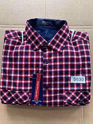 Теплая  рубашка флис Ovento classik  - S030