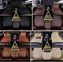 Килимки Ауді Audi A6 С7 Шкіряні 3D (2011-2017) оригінальні