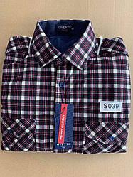 Теплая  рубашка флис Ovento classik  - S039