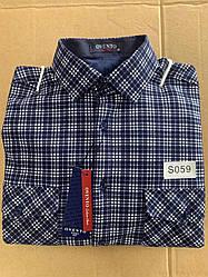 Теплая  рубашка флис Ovento classik  - S059