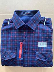 Теплая  рубашка флис Ovento classik  - S055