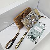 Золотой кошелек / Портмоне из питона, фото 3