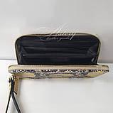 Золотой кошелек / Портмоне из питона, фото 2