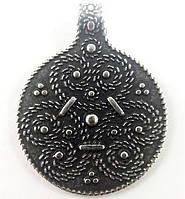 Амулет Трилистник Кельтский Серебрение