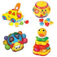 Развивающие игрушки, сортеры для малышей
