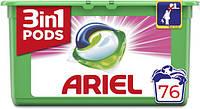 Капсулы для стирки универсальный Ariel Pods 3 в 1 76 капс.