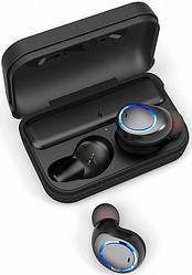 Беспроводные наушники Awei T3 Twins Earphones влагозащитные Black