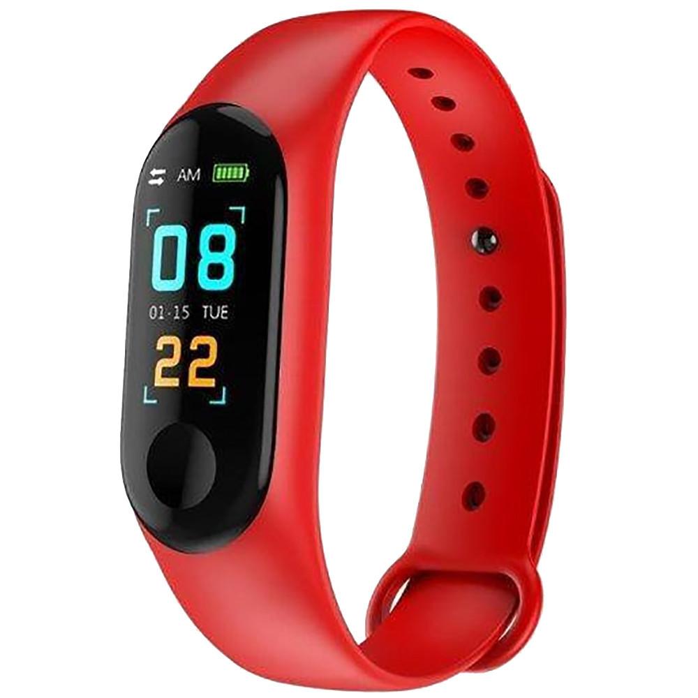 Фитнес браслет Smart Watch Mi BAND m3 (КРАСНЫЙ) D1021