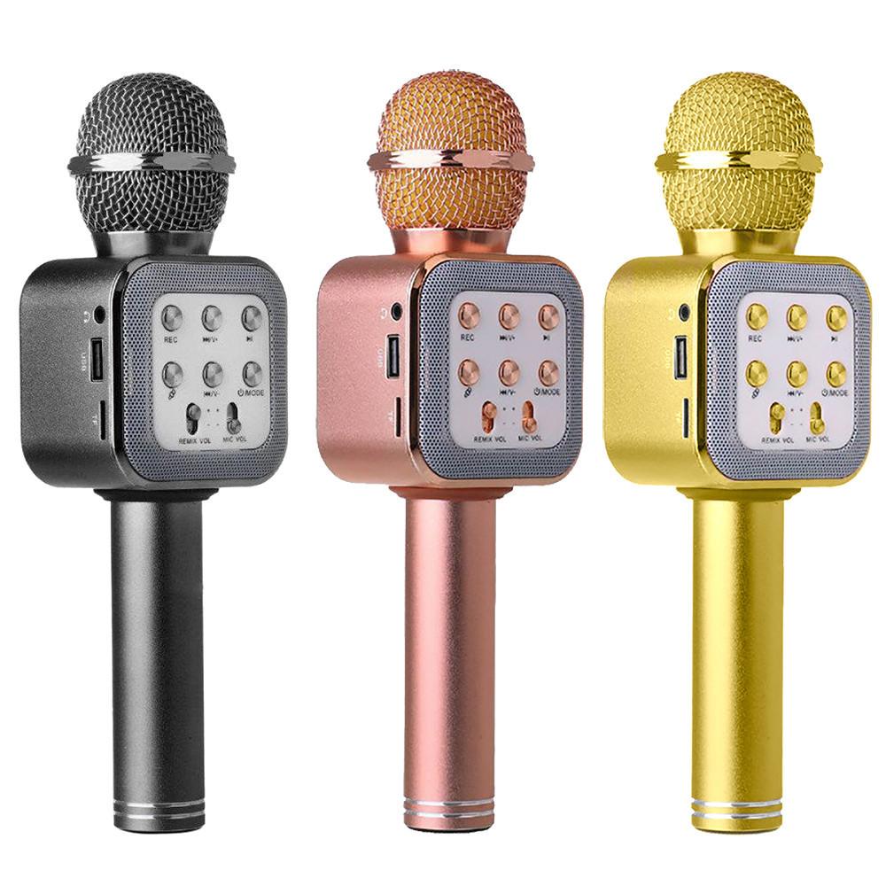 Беспроводной Bluetooth микрофон WS-1818 + ЧЕХОЛ D1021