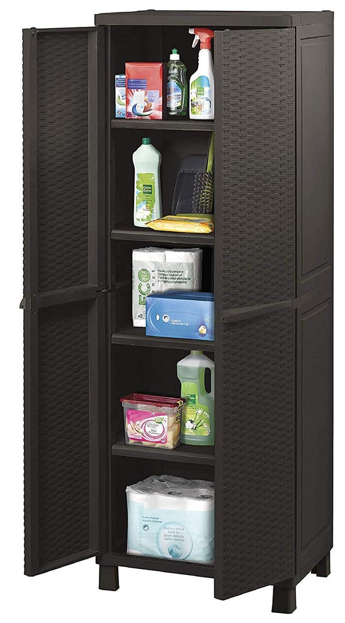 Шкаф гардеробный - Keter m293186  коричневый, 65 х 45 х 177 см