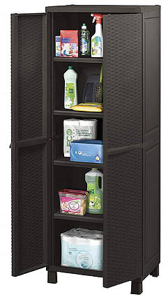 Шкаф гардеробный - Keter m293186  коричневый, 65 х 45 х 177 см, фото 2