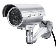 Муляж камеры видеонаблюдения CDYCAM 1100 с наклейкой Silver (3_6310)