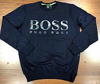 Свитшот мужской Hugo Boss D7901 темно-синий
