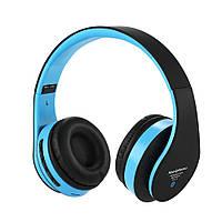 Беспроводные стерео наушники RIAS STN-12 МР3 FM Bluetooth Black (3_4054), фото 1