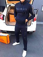Спортивный костюм BALMAIN D7986 темно-синий