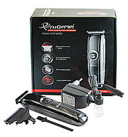 Машинка для стрижки волос Gemei GM-6050 3W Black (3_00100), фото 1