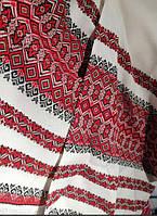 Ткань на рушник с вышивкой Аншлаг ТДК-109 1/1 рапорт 1.85м