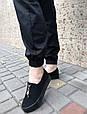 Брюки карго женские с карманами  (черные), фото 3