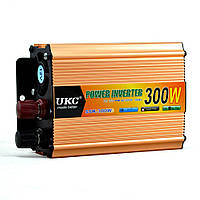 Преобразователь напряжения инвертор UKC SSK 300W 12V-220V Gold (3_00145), фото 1