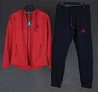 Спортивный костюм Air Jordan D8130 черно-красный