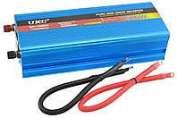 Преобразователь напряжения инвертор UKC SP 1500W 12V-220V с чистой синусоидой Blue (3_00266)