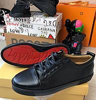 Кроссовки мужские Christian Louboutin D7946 черные