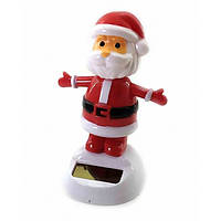 Дед мороз танцующий на солнечной батарее (Flip Flap) (12х10х6 см)