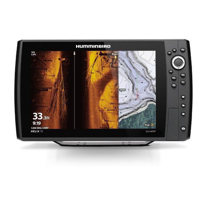 Эхолот Картплотер Humminbird HELIX 8  CHIRP MEGA SI+ GPS G3N шестилучевой, цветной дисплей, меню на русском