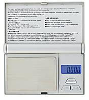 Карманные электронные весы RIAS R-147 0,01-100 гр Silver (3_6295), фото 1