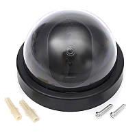Муляж купольной камеры видеонаблюдения RIAS DS-6688 Black (3_3990)