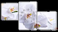 Настенные часы/Модульная картина DK Store s182T Орхидея 1470х800 мм (hub_MazW49151)