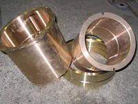 Втулка бронзовая БрА9Ж4Л, ОЦС555, БрАЖН О5Ц5С5 делаем под заказ от 5 до 7 дней.