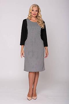 Элегантное женское платье с эффектом зрительной корекци с 54 по 62, фото 2