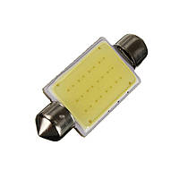 Автомобильные светодиодные лампы iDial Светодиодная лампа повышенной мощности Festoon-COB-12SMD 41mm