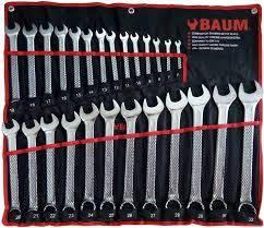 Набор ключей рожково-накидных 26 предметов Baum 30-26M
