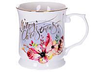 Чашка фарфоровая Merry Christmas 400 мл 924-450