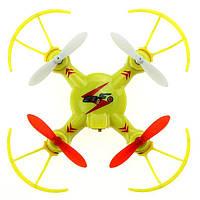 Квадрокоптер нано р/у WL Toys V646-A Mini Ufo 2.4 ГГц Желтый (WL-V646-Ay)