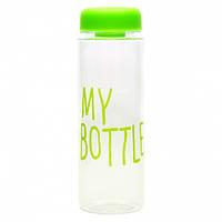 Бутылка для воды My bottle 500 мл с чехлом салатовая (3_6824), фото 1