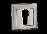Накладка под цилиндр MVM E8 BN/SBN - черный никель/матовый черный никель, фото 1