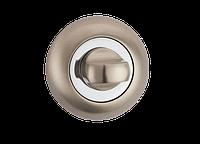 Накладка WC-фиксатор MVM T3 SN/CP - матовый никель/хром, фото 1