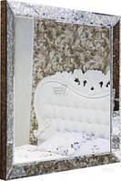 Зеркало Бусел 3D антик 938x938 мм T80358094