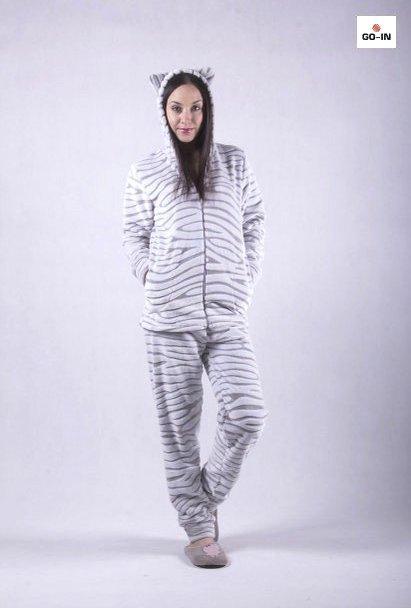 Жіночий теплий домашній костюм махровий сірий