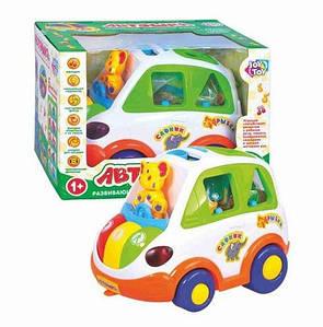 Развивающая логическая игрушка Автошка JT 9198