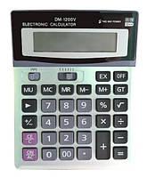 Настольный калькулятор RIAS DM 1200V Silver (3_6566), фото 1