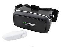 Очки виртуальной реальности RIAS VR Shinecon c пультом Black (3_6282)
