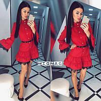 Платье с кружевом, фото 1