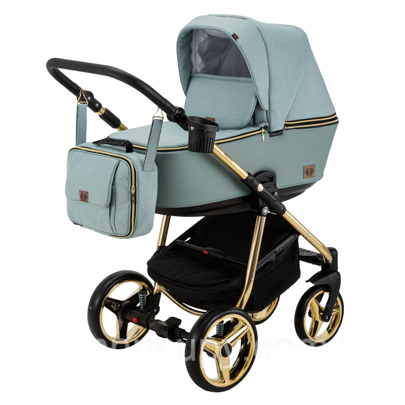 Универсальная коляска 2 в 1 Adamex Reggio Limited Chrom Y851