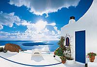 Фотообои: Закат Санторини, 366х254 см, 8 частей