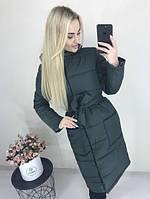 Куртка женская тёплая хаки зелёная чёрная голубая красная розовая